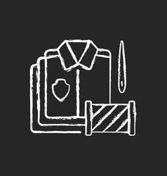 bulk orders chalk white icon on black background vector image