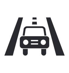 Drive icon vector