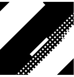 Glitched diagonal overlay vector