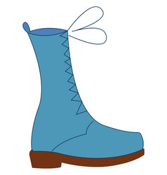 Image boots or color vector