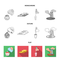 jam diet accessories and other web icon in vector image