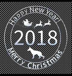 print for christmas envelopes-04 vector image