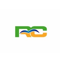 RC logo vector image