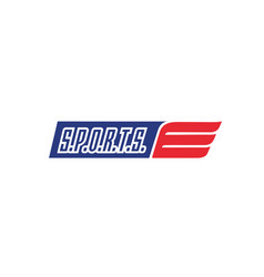 sport-logo vector image