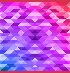 square polygonal background vector image