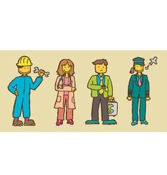 career vector image