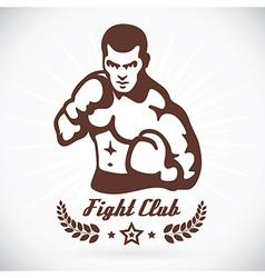 Boxer fitness model vector