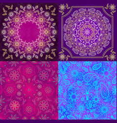 Animal skin pattern seamless animalistic vector