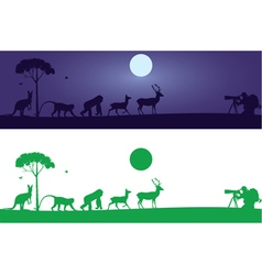Animals Wall Decal vector image