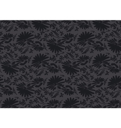 Black velvet seamless pattern in ar deco style vector