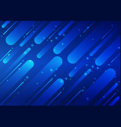 blue color geometric and line abstract background vector image