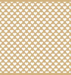 Chocolate love pattern background vector