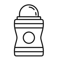 Hygiene deodorant icon outline style vector