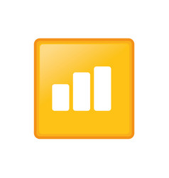 statistic graph report vector image