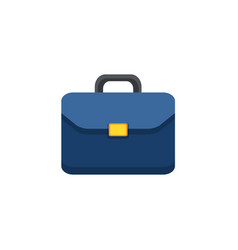 flat icon of briefcase vector image vector image