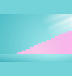 stairway to the light vector image