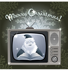 Message from Santa vector image vector image
