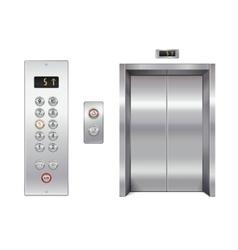 Elevator design set vector image