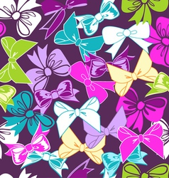 sweet bows vector image