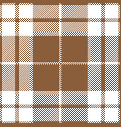 beige tartan plaid seamless pattern vector image