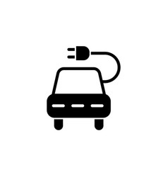 car socket icon on white background can be used vector image