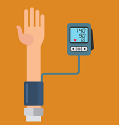 Digital device for measuring blood pressure vector