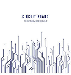 Hardware communication concept circuit board vector