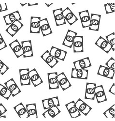 money seamless pattern background icon flat vector image