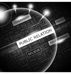PUBLIC RELATION vector