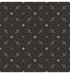 Seamless islam pattern Vintage floral background vector