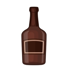 Whiskey bottle iocn vector