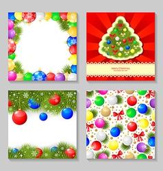 christmas set3 vector image