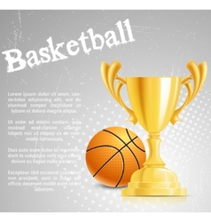 basketball competition vector image