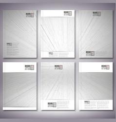 Abstract 3d hexagonal background brochure flyer or vector