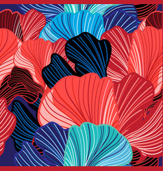 abstract seamless colorful pattern fantastic vector image