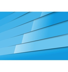 Bright blue layered adstract modern background vector