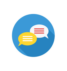 chat icon sign symbol vector image