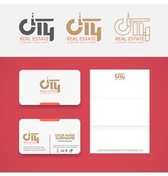 CityReal vector image