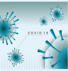 Corona virus professional background vector