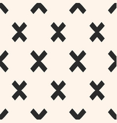 Cross pattern x modern funky texture vector