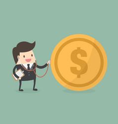 Financial check up vector