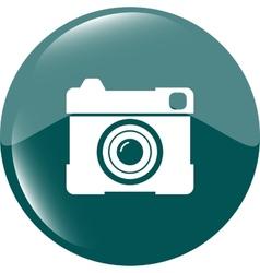 Hipster photo icon Camera icon Photo vector