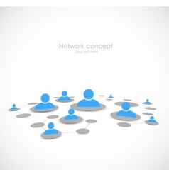 Networking concept vector