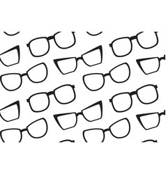 seamless texture with glasses on diagonal vector image