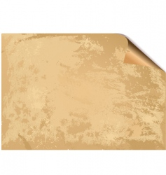 old paper grunge background vector image