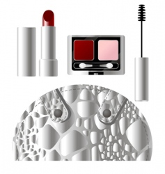 beauty products vector image vector image
