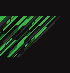 abstract green grey cyber circuit futuristic vector image
