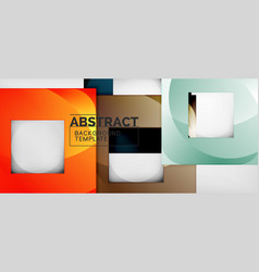 abstract squares geometric background can be used vector image