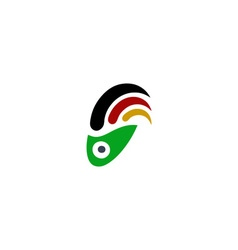 Beautiful Surf logo vector image vector image