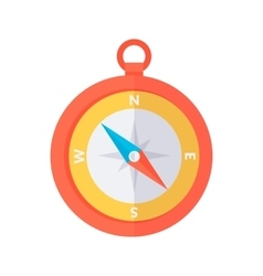 Compass color icon vector